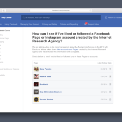 Facebook's new portal will let you see if you have been a victim of Russian trolls