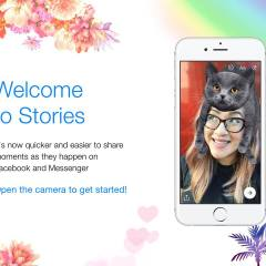 Facebook connects Messenger Day with Stories
