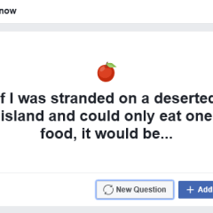 Facebook Wants You to Answer a Question