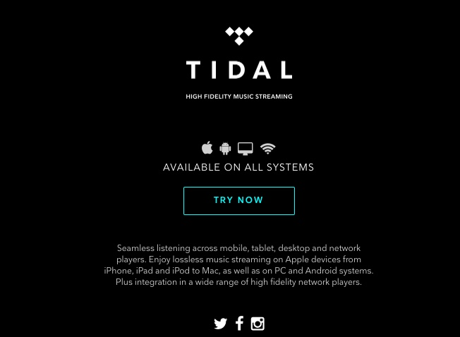 TIDAL Offering 12 Days Of Free Premium Access As Holiday Special