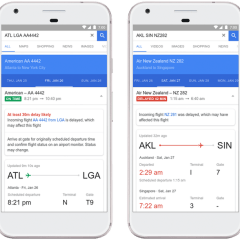 Google Flights now uses AI to predict flight delays