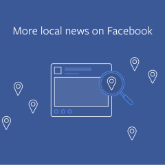 Facebook News Feed update focuses on local news