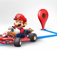 Google puts Mario on Google Maps