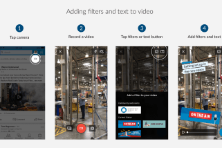 LinkedIn wants you to filter videos like Snapchat with 'Filters'