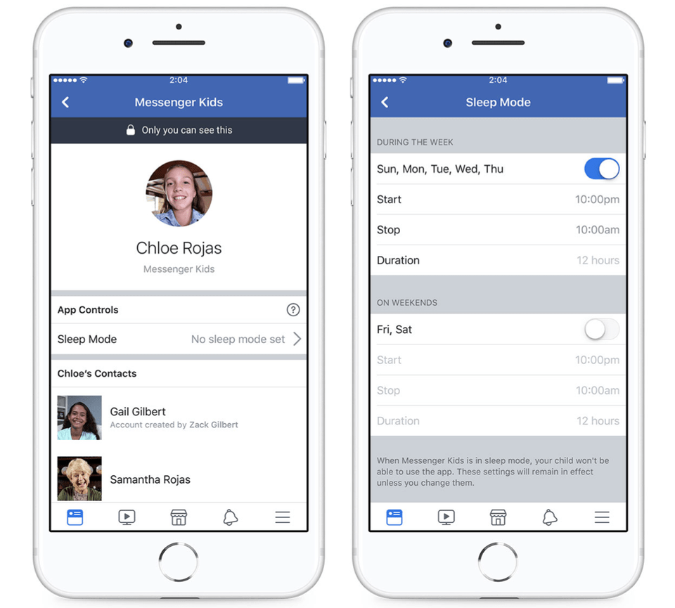 Facebook introduces 'Sleep Mode' on Messenger Kids