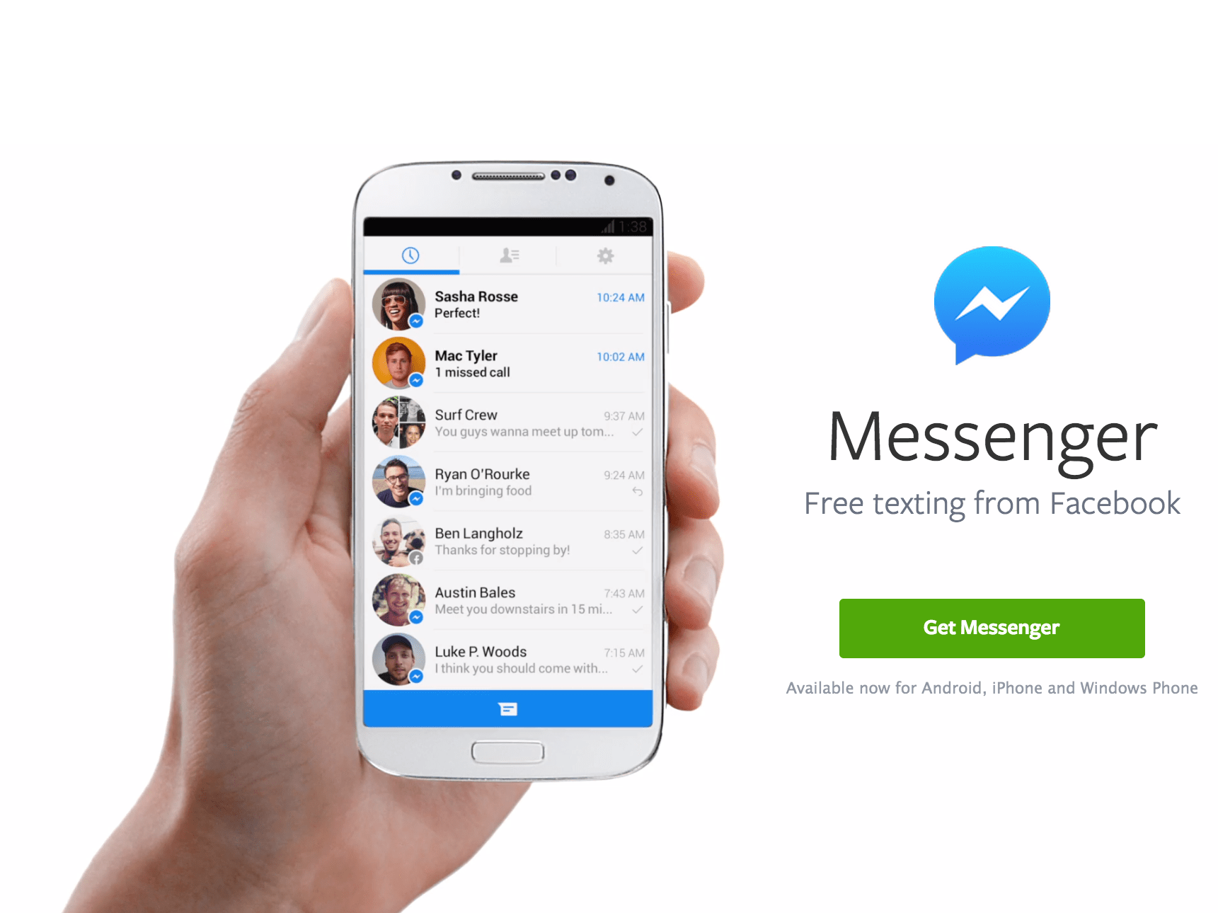 Facebook reveals it has been spying on your Messenger chats