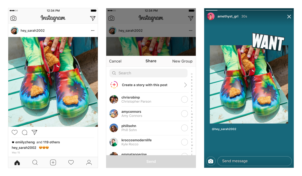 Instagram Now Lets You Re-Share Posts to Stories