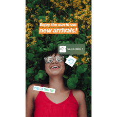 Instagram users can now shop products through Stories