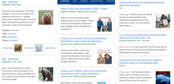 Google Search adds image thumbnails on mobile
