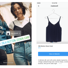 Instagram Makes It Easier to Shop on Its App Via Shopping Tab