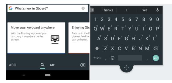 Google is adding floating keyboard to Gboard v7.6 Beta