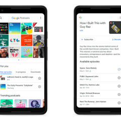 Google Podcast enables direct sharing of shows and episodes in latest update