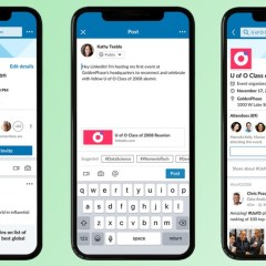 LinkedIn is launching an event feature similar to Facebook events
