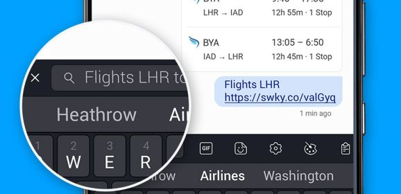 SwiftKey is adding web search within its keyboard on Android
