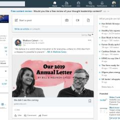 "LinkedIn has rolled out its ""what people are talking about"" section to more users"