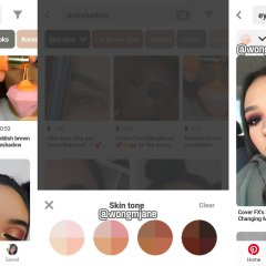 Pinterest is testing Skintone Search Filter on Android
