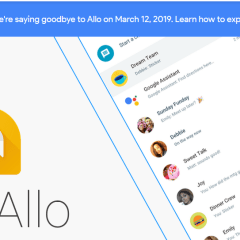 Allo is shutting down today—find out how to export your chat history