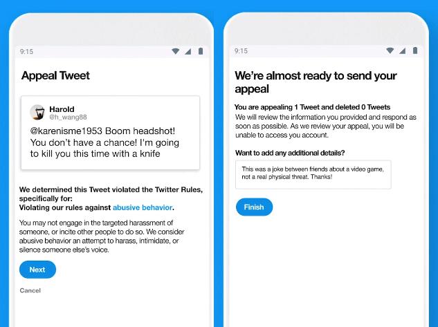 remote appeal tweet twitter