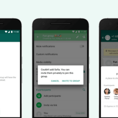 WhatsApp users can now decide who adds them to group