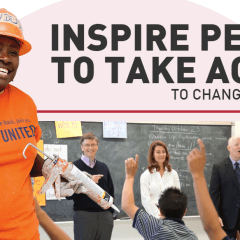 Who are the most inspiring tech leaders who help promote charities?