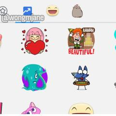 Facebook is working on a Trending Stickers section