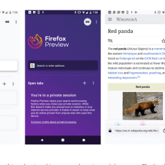 Mozilla Fenix browser arrives on the Play Store