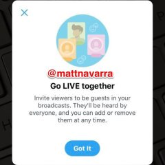"Twitter could soon roll out ""Guests"" feature for live videos"