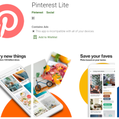 "Pinterest's new ""Lite"" app is for emerging markets—consumes less space"