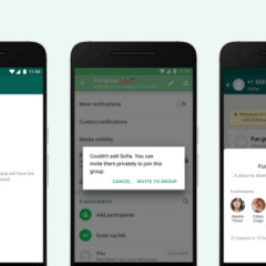 WhatsApp's new privacy feature will let you choose who can add you to a group