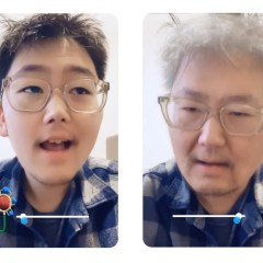 Snapchat launches new aging filter