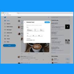 Twitter is experimenting with one of TweetDeck's popular features—Scheduling