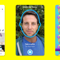 Snapchat's latest Cameos feature uses selfies to replace other people's faces in videos