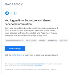 """Facebook launches new """"Login Notifications"""" to alert you of third-party logins"""