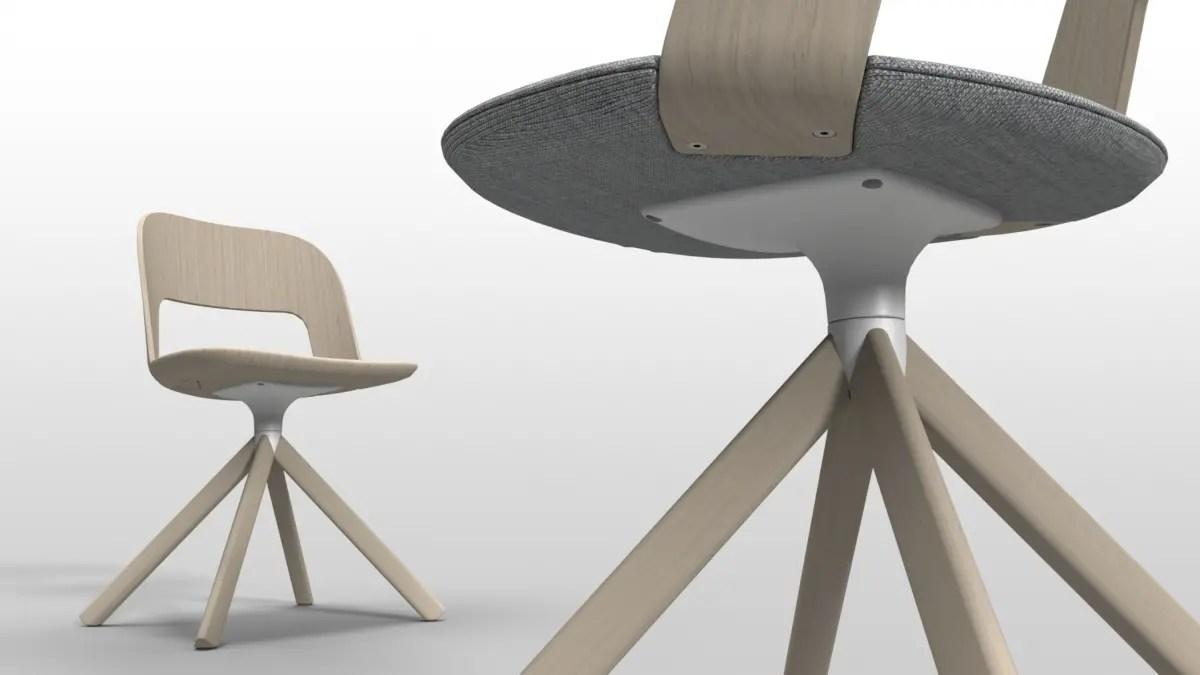 Sedia Legno Curvato Design | Sedia Lussuosa In Legno Penkala Homeplaneur