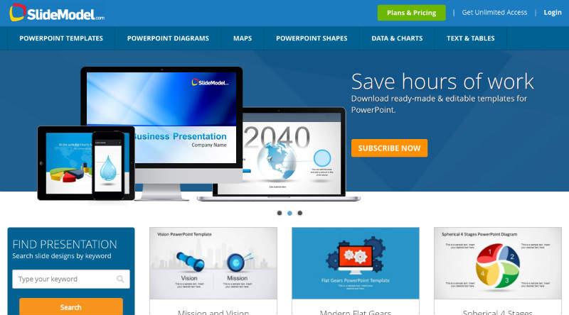Diagramas Profesionales Para Presentaciones de PowerPoint \u2013 Social Geek