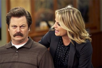 Parks-and-Recreation-Ron-and-Leslie-