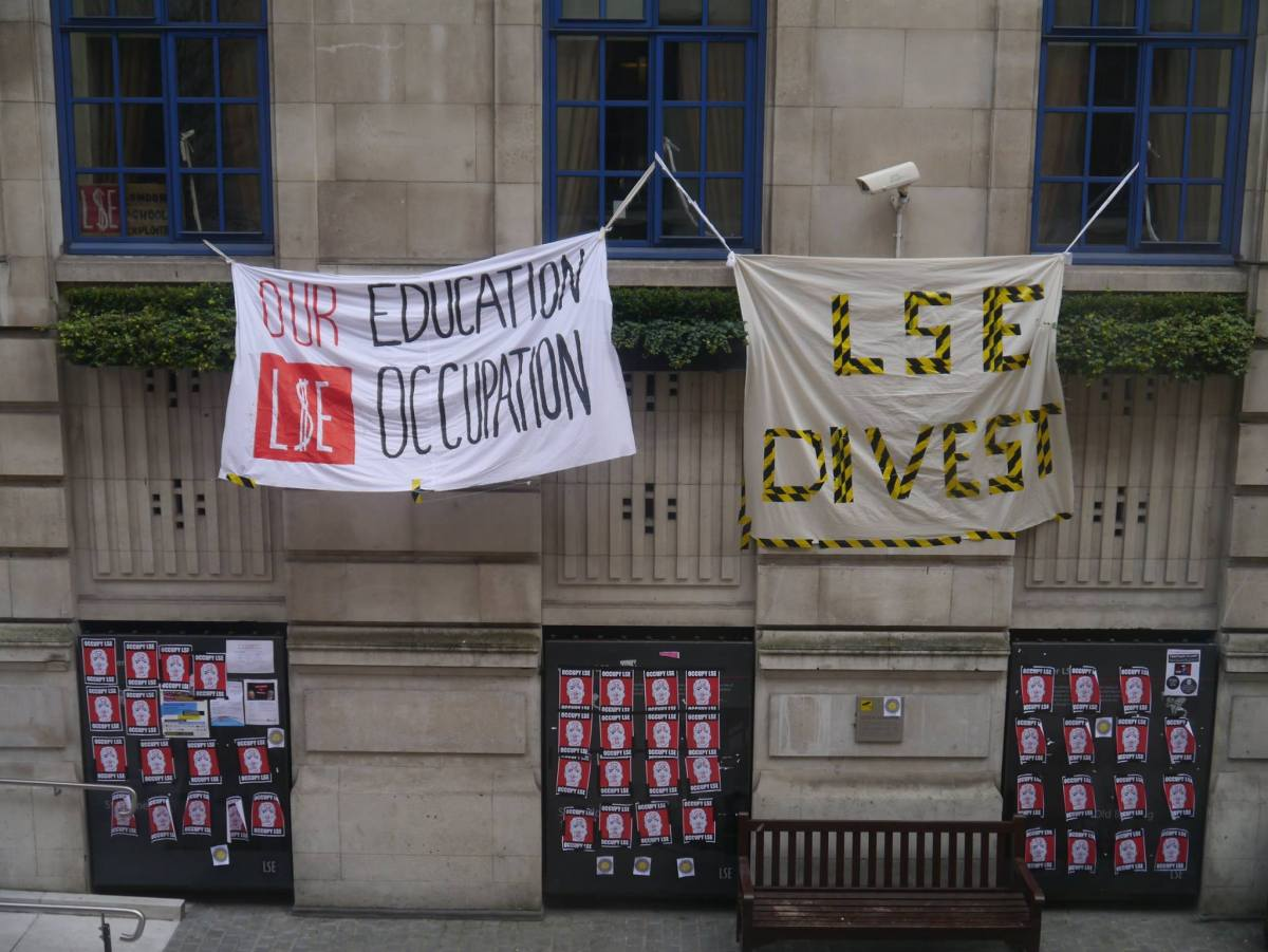 Students occupy universities against neo-liberal austerity