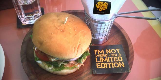 The Dapper Burger at Oh Bean Der, Hyderabad