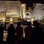 21/04/2015 Roma. I Fori Imperiali di notte.