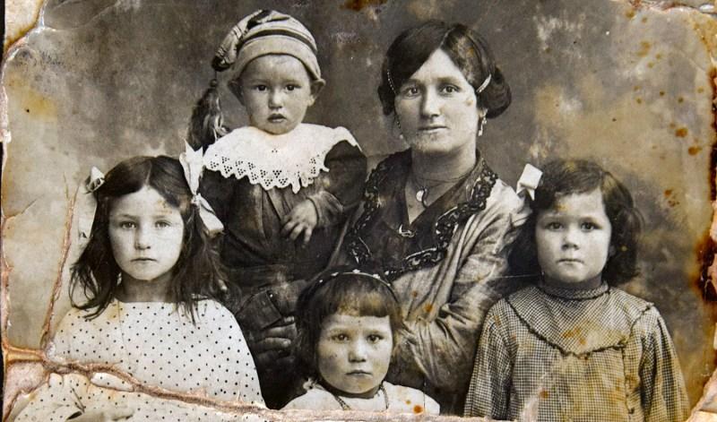 Famiglia, circa 1890