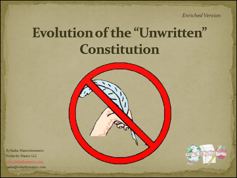 the evolution of the constitution The evolution of human rights infographic  constitutional amendments  bookmark | additional photo (inside page) more information more information.