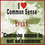 Common Sense isn't Common