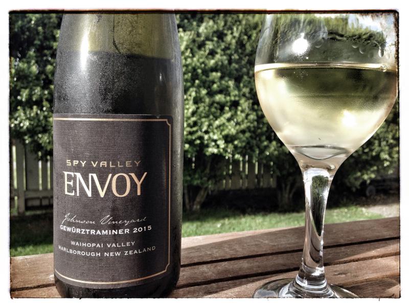 2015 Spy Valley Envoy Gewürztraminer, Marlborough