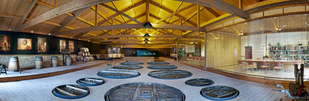 La Rioja Alta winery Bodega fermenters vats tanks wine social vignerons