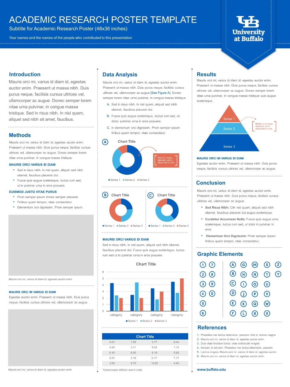 academic poster powerpoint template