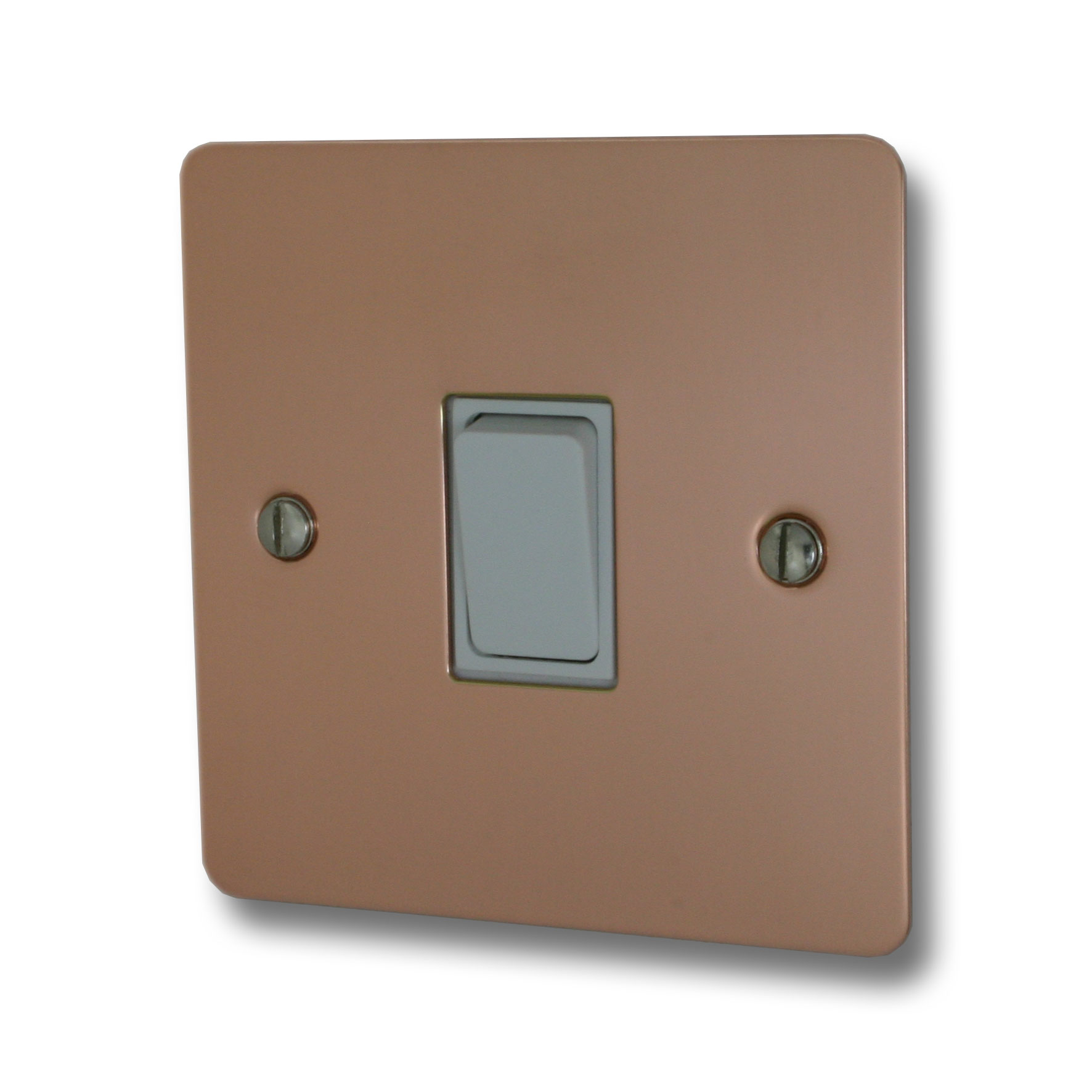 Copper Light Switch Plates G And H Brassware From Socket Store