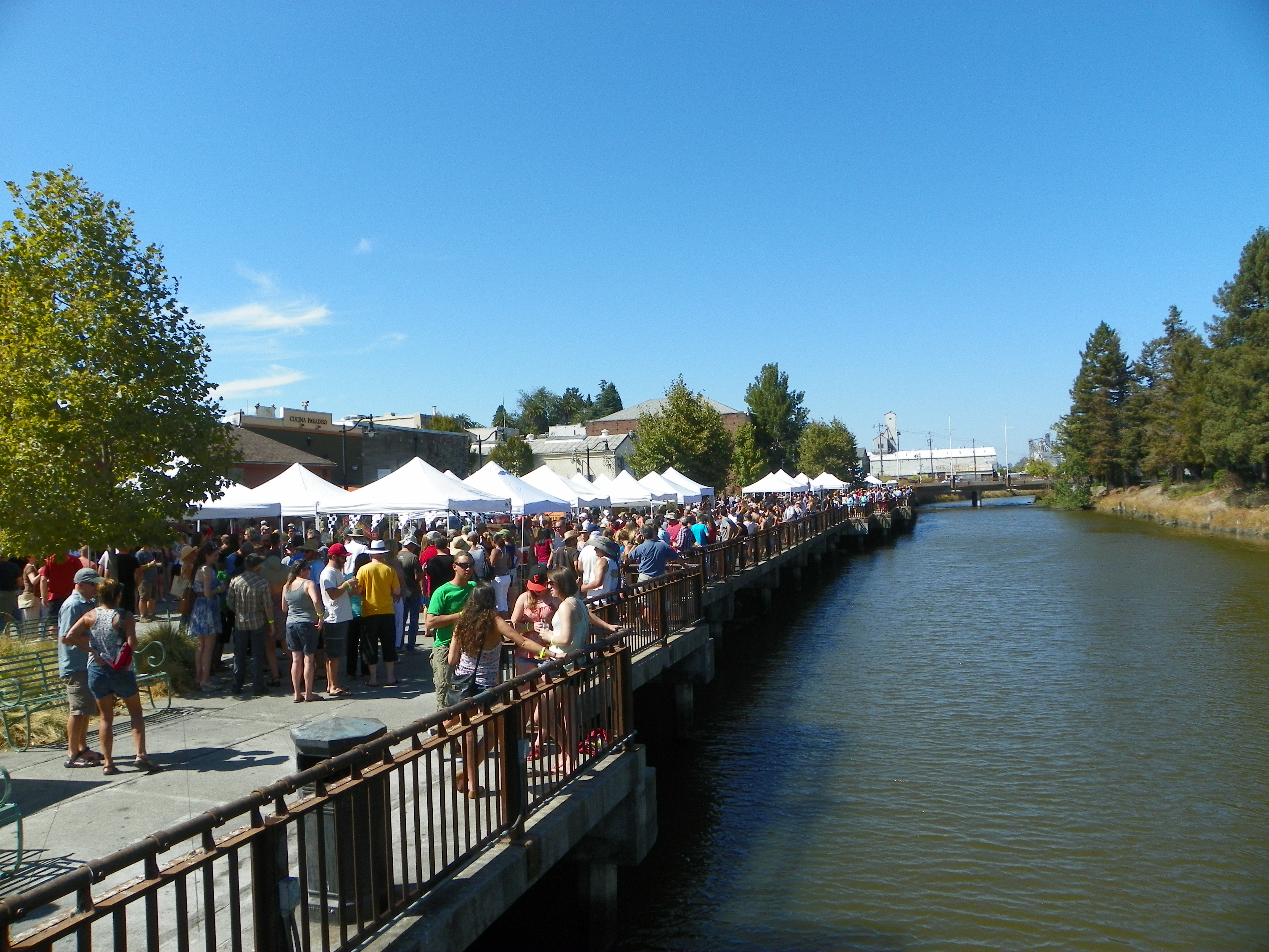 Cucina Paradiso Wine List 2nd Annual Petaluma Craft Beer Festival Sonoma County Wine Blog