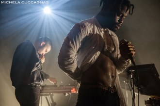 Young Fathers - 13 juin 2015 at La Maroquinerie in Paris. Photo by Michela Cuccagna for Sodwee.com
