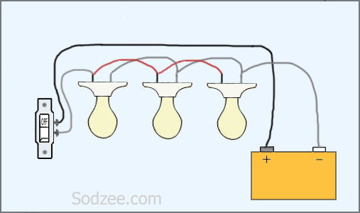 Simple Light Switch Wiring Diagram Schematic Diagram Electronic