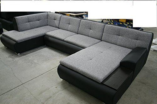 Big Sofa Xxl Beige Couchgarnitur Model Havanna Mit Schlaffunktion